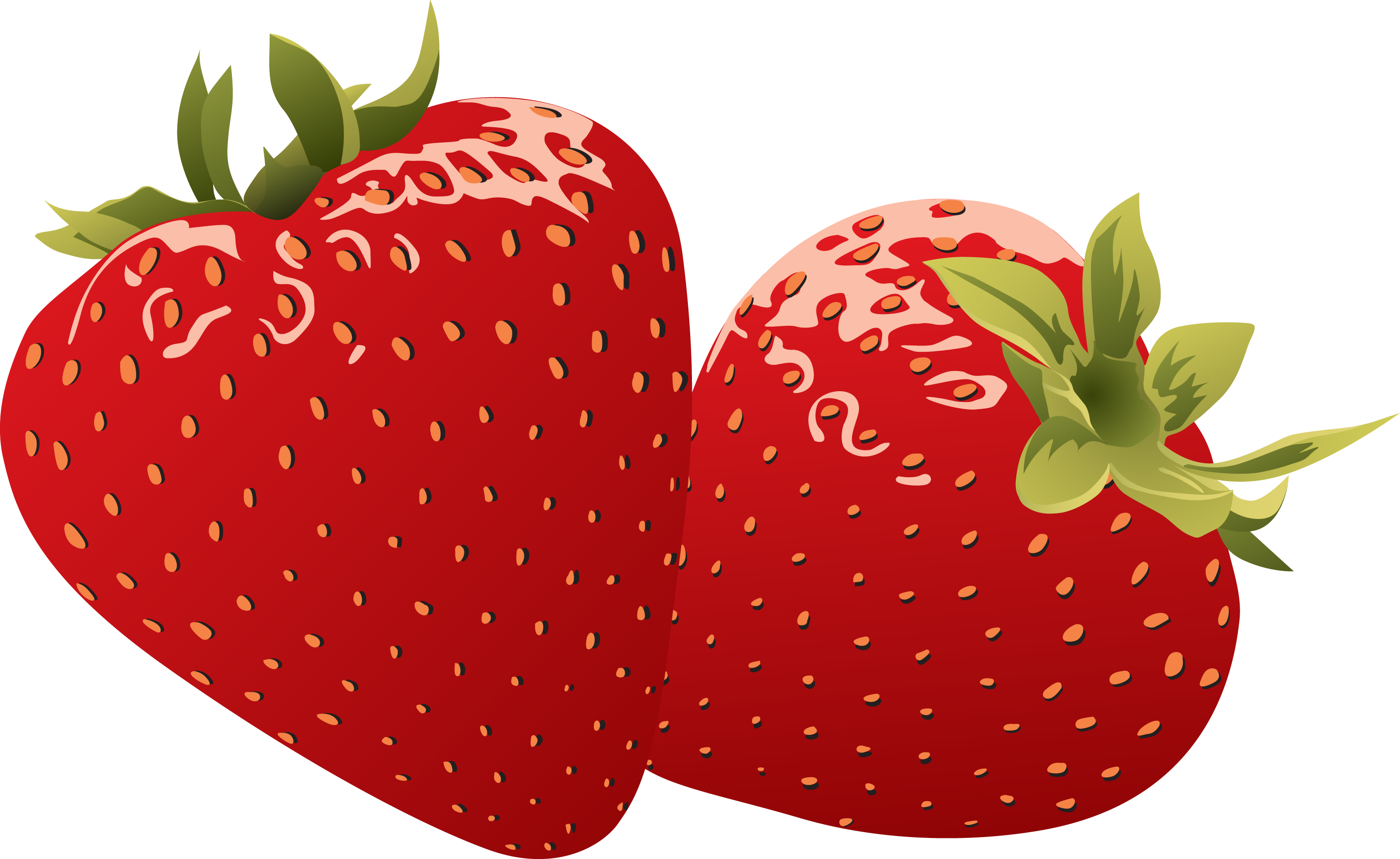 Strawberry Clipart Group