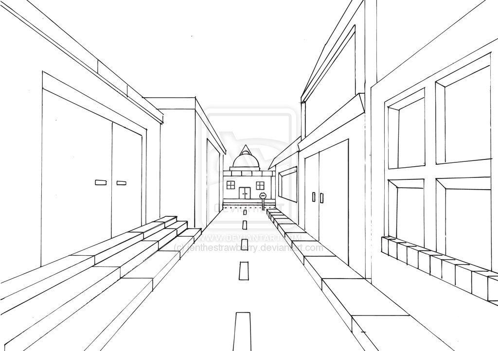 Drawn street one.
