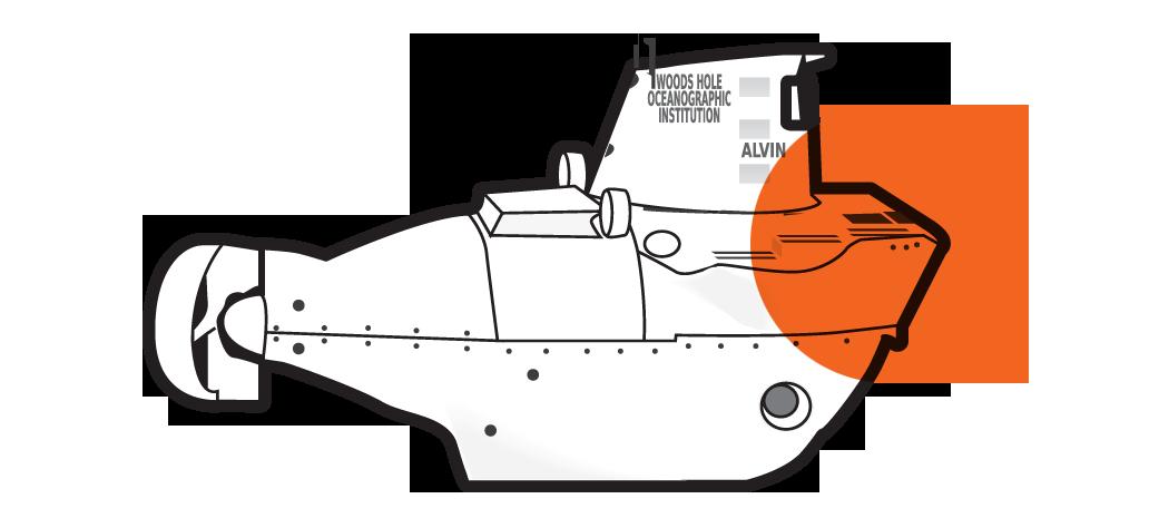 Submarine clipart submersible, Submarine submersible
