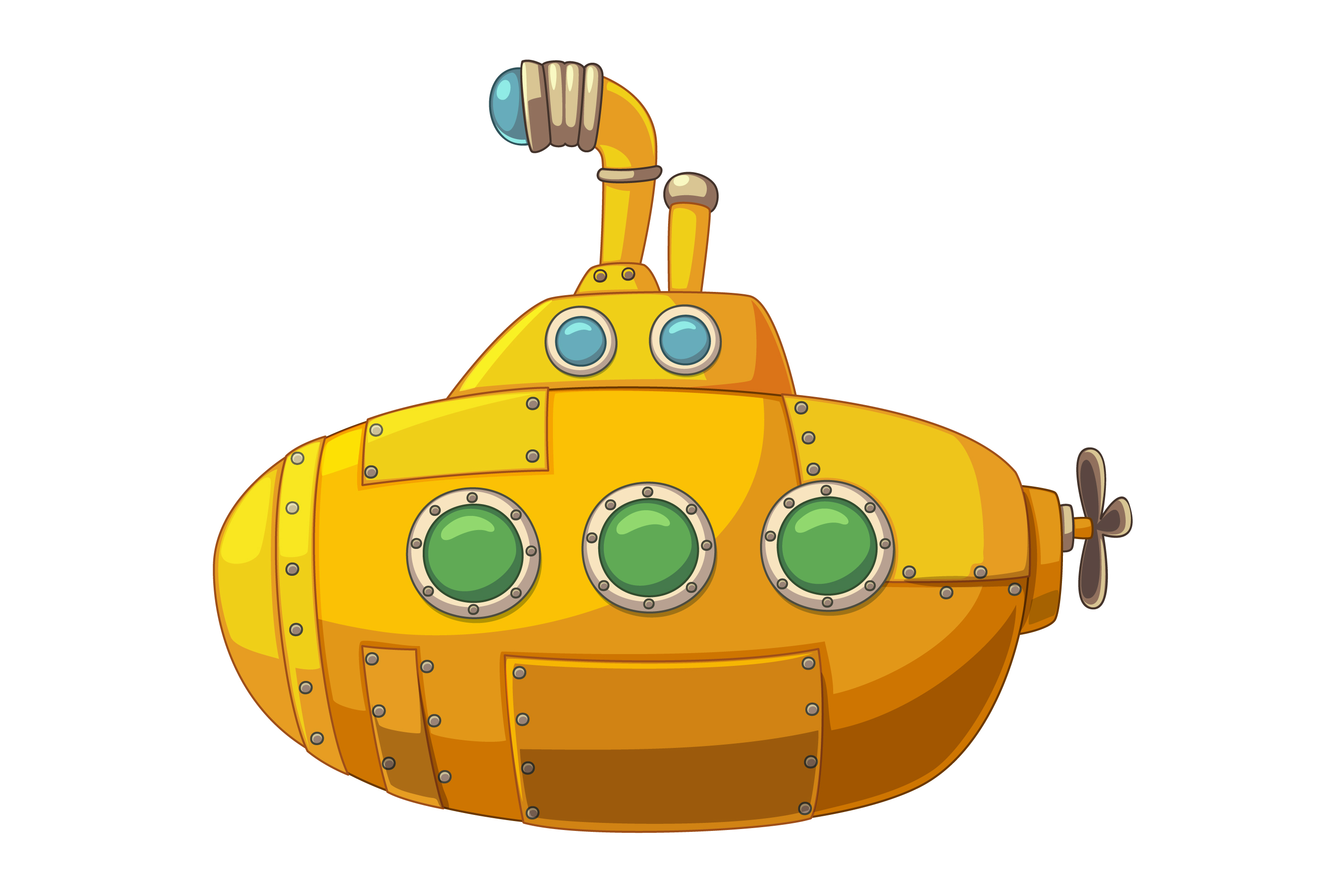 Cute yellow submarine.