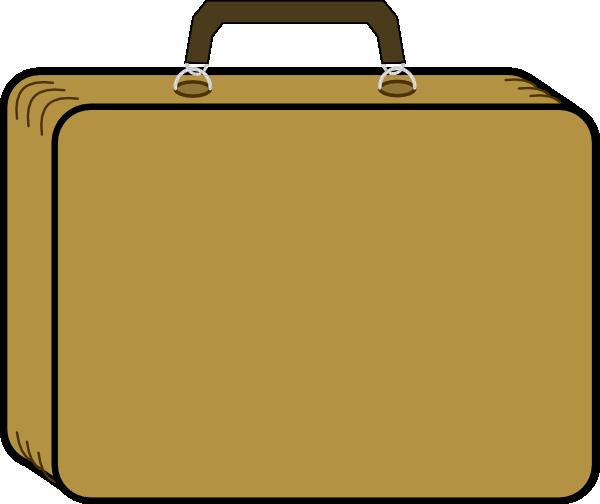 Suitcase clipart kid