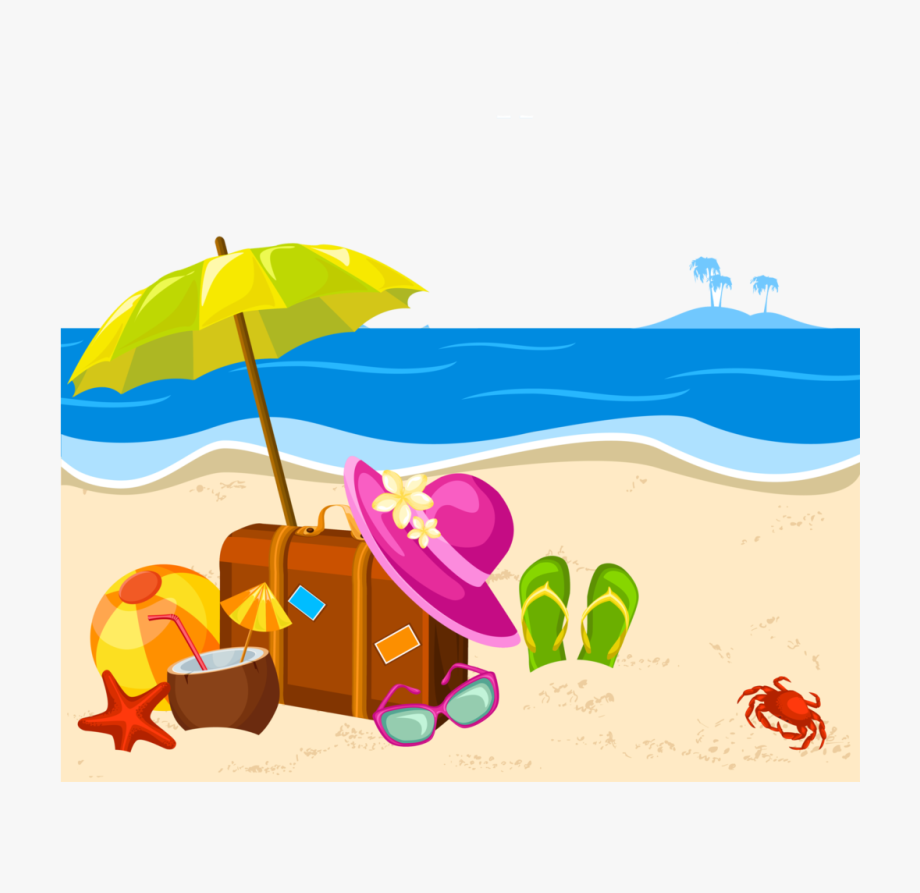 Summer png clipart.