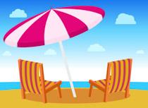 beach clipart summer