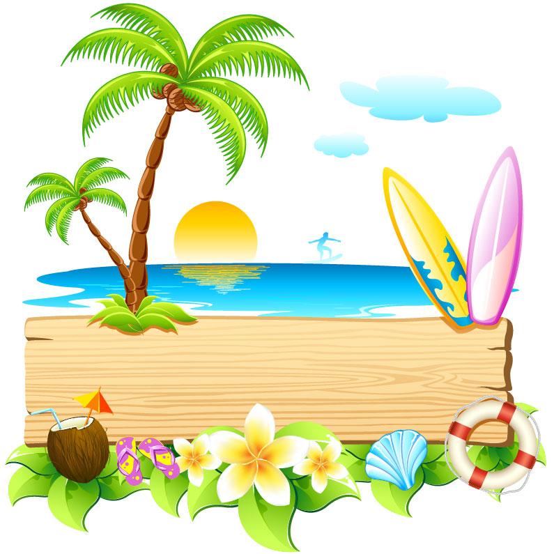 Summer beach party.