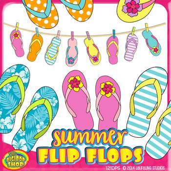 Summer flip flop.