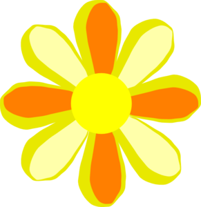 Summer flower clip.
