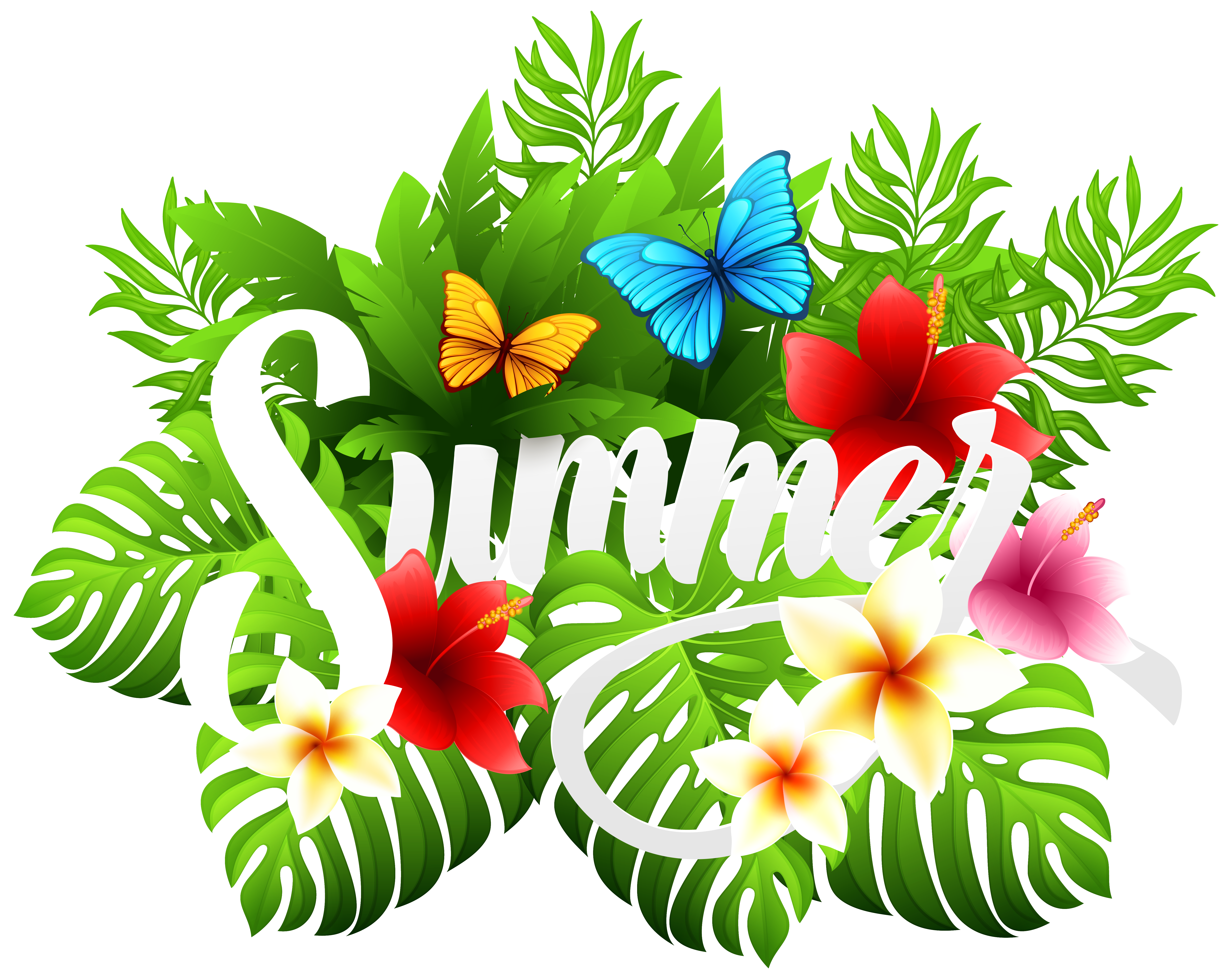 Clipart flower summer.