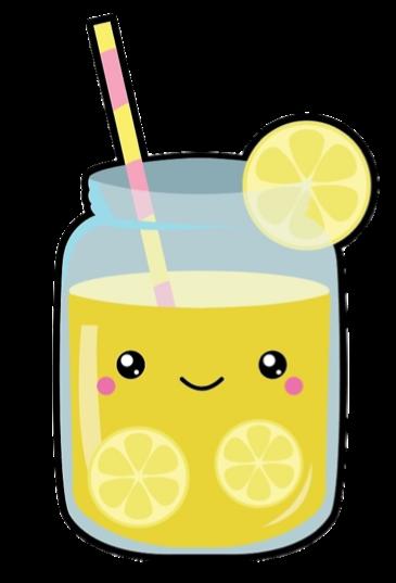 Lemon lemonade kawaii.