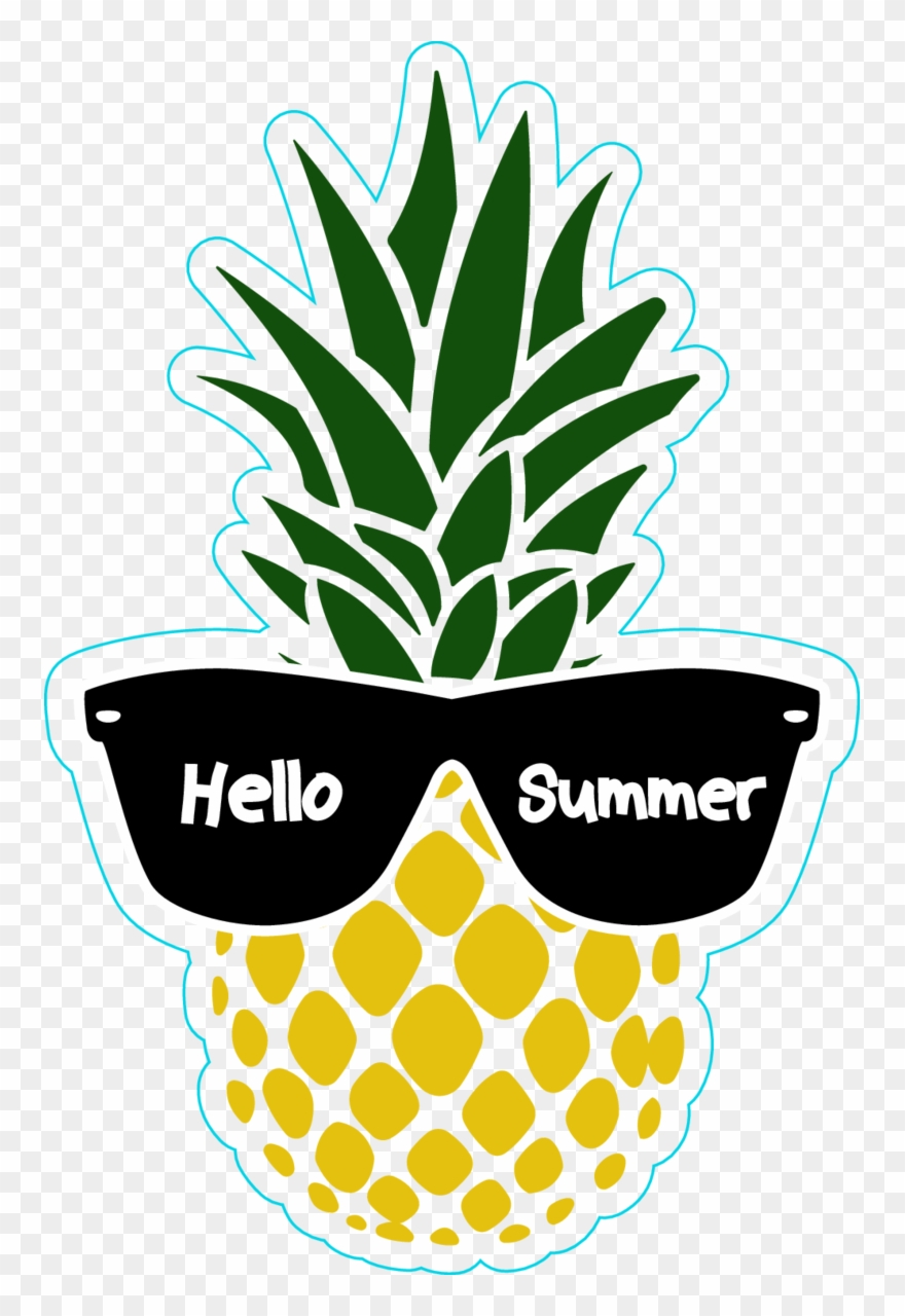 Pineapple png summer.