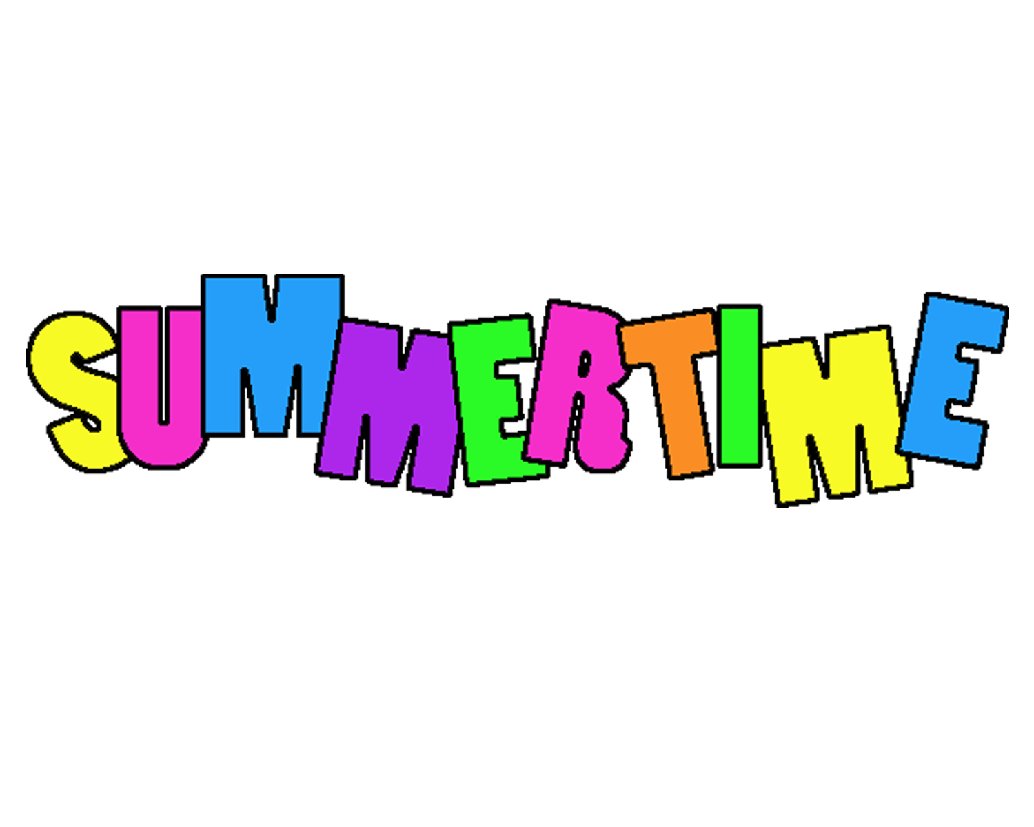 Free summertime background.