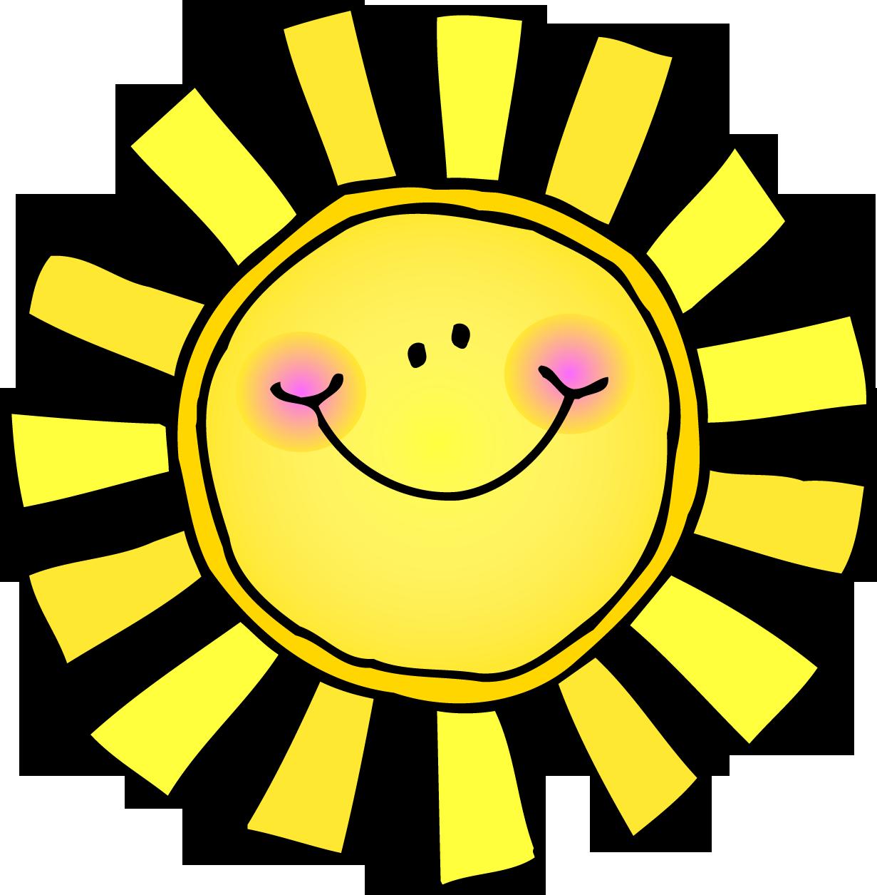 Clipart sun summer.
