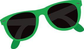 Summer sunglasses clip.