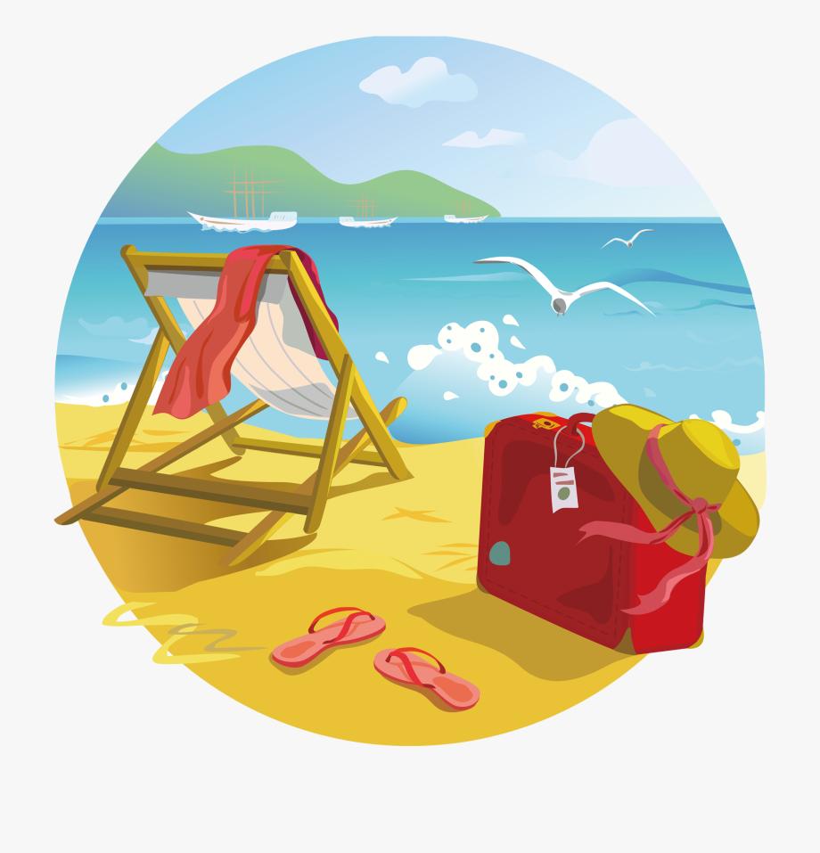 Clipart beach tropical.