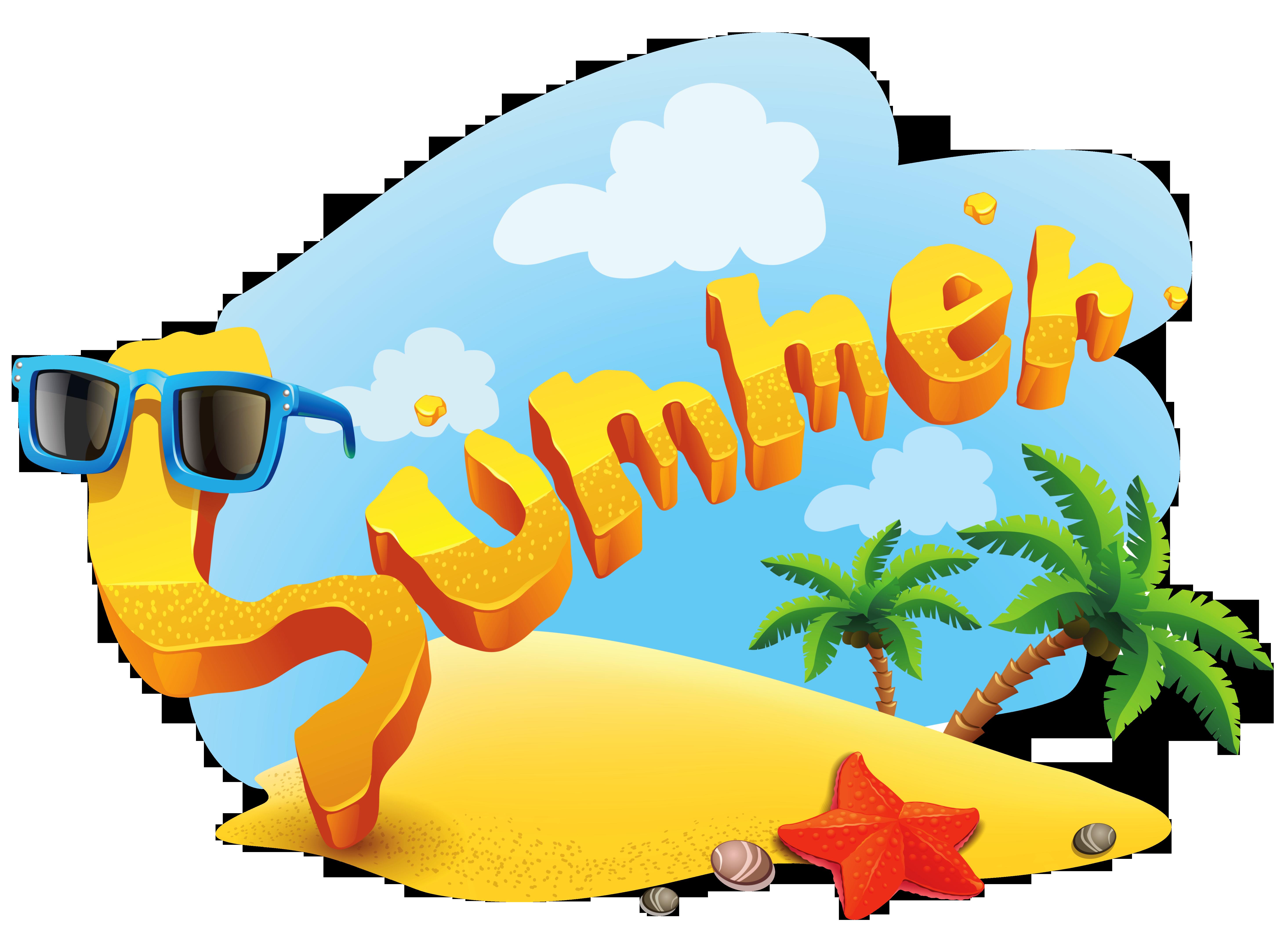 Clip Art for Summer Clip art