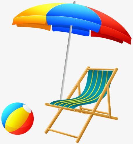 Free summer beach.