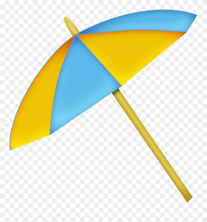 Beach umbrella summer.
