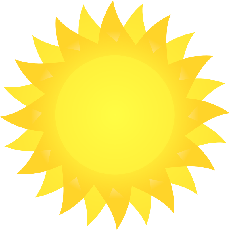 Free sun clipart images