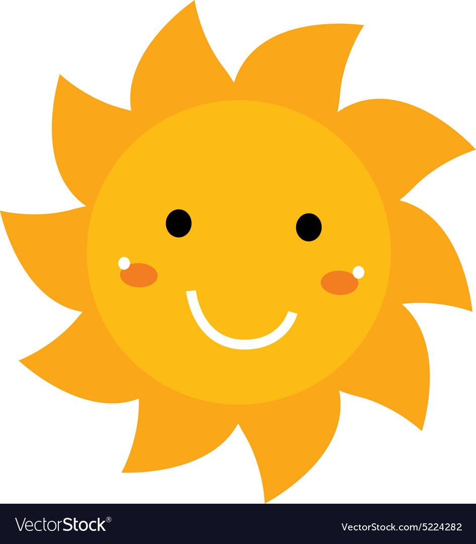 Pretty smiling sun.