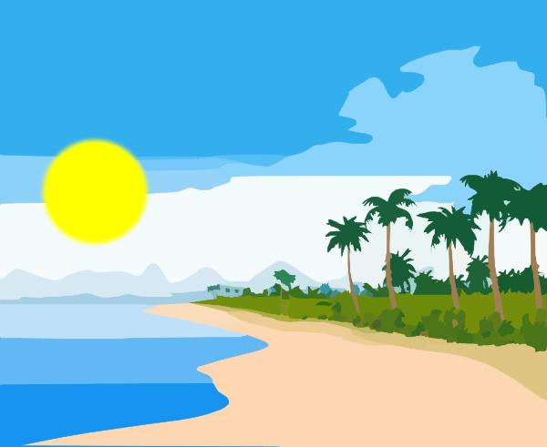 Free sun beach.