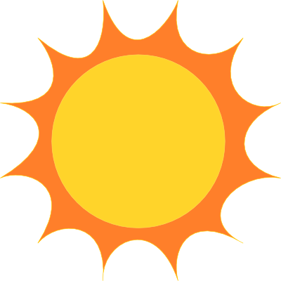 Cartoon sun images.
