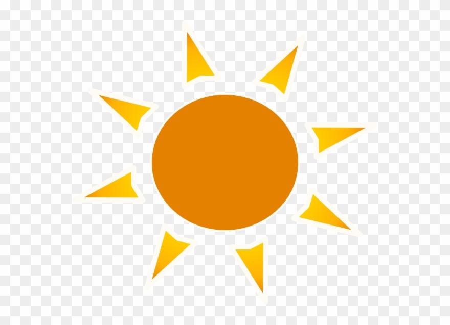 Sun logo clip.