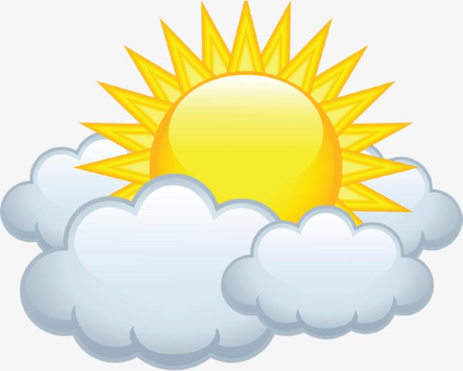 Cloudy sun cloud.