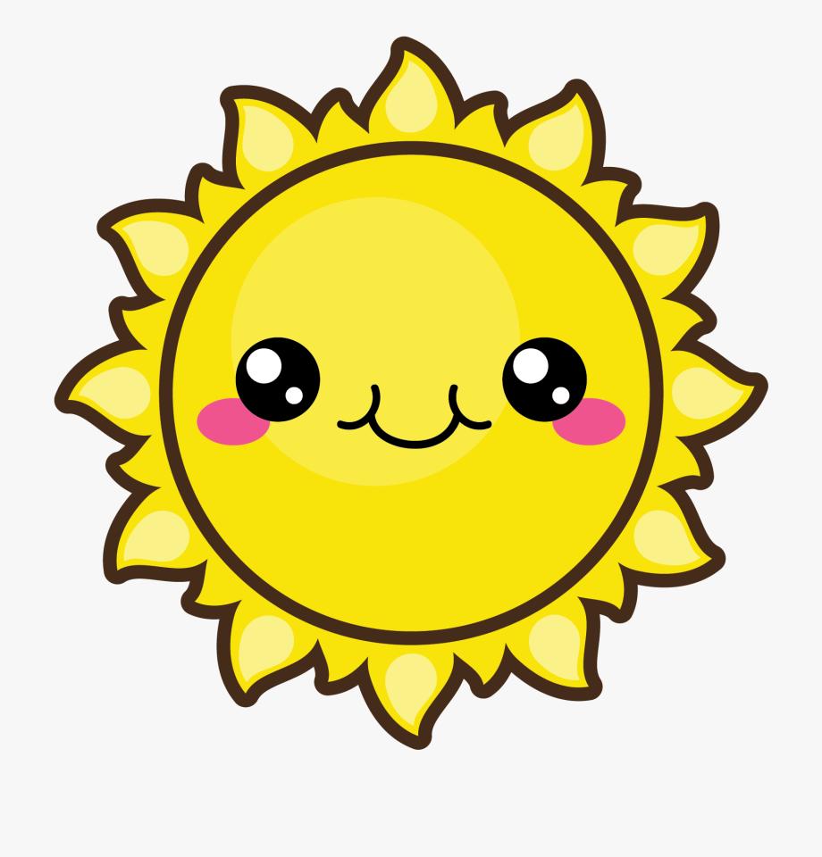Cute summer sun.