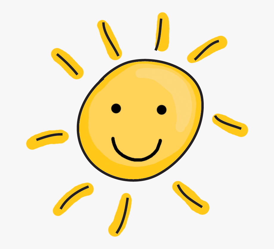 Happy sun clipart.