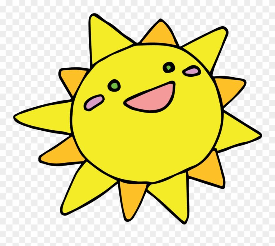 Sun Clipart Kawaii