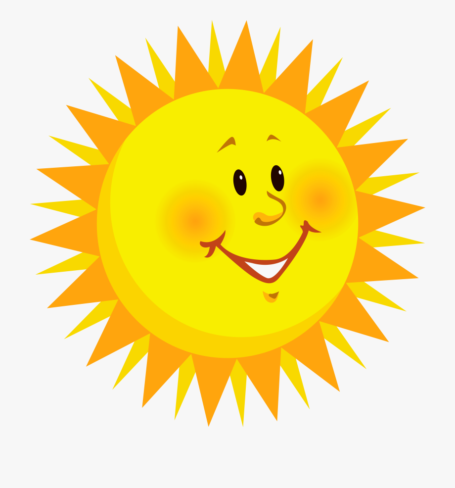 Sun Clipart For Kids Png