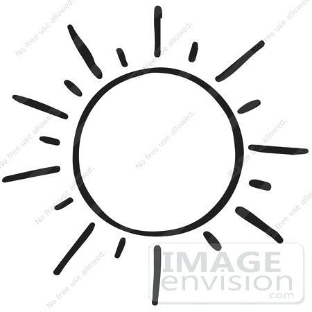 Sun Clipart Outline