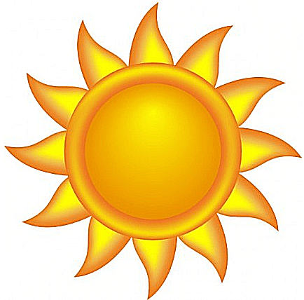 Brighten Your Day With Free Clip Art of the Sun