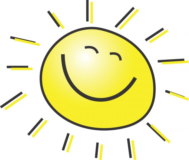 Free Smiling Sunshine, Download Free Clip Art, Free Clip Art