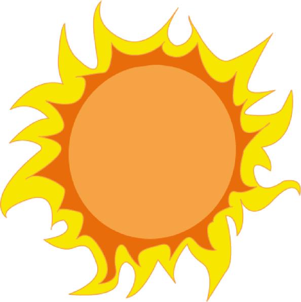 Free summer sun.