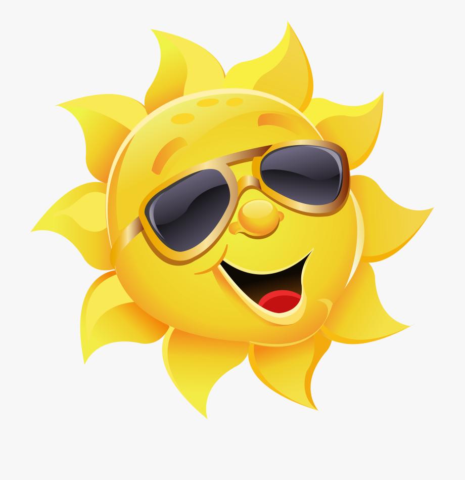Sunshine clipart bright.