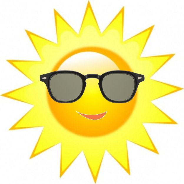 Free Sun With Sunglasses, Download Free Clip Art, Free Clip