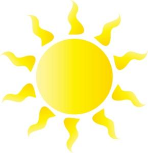 Sunshine sun clipart free clipart images