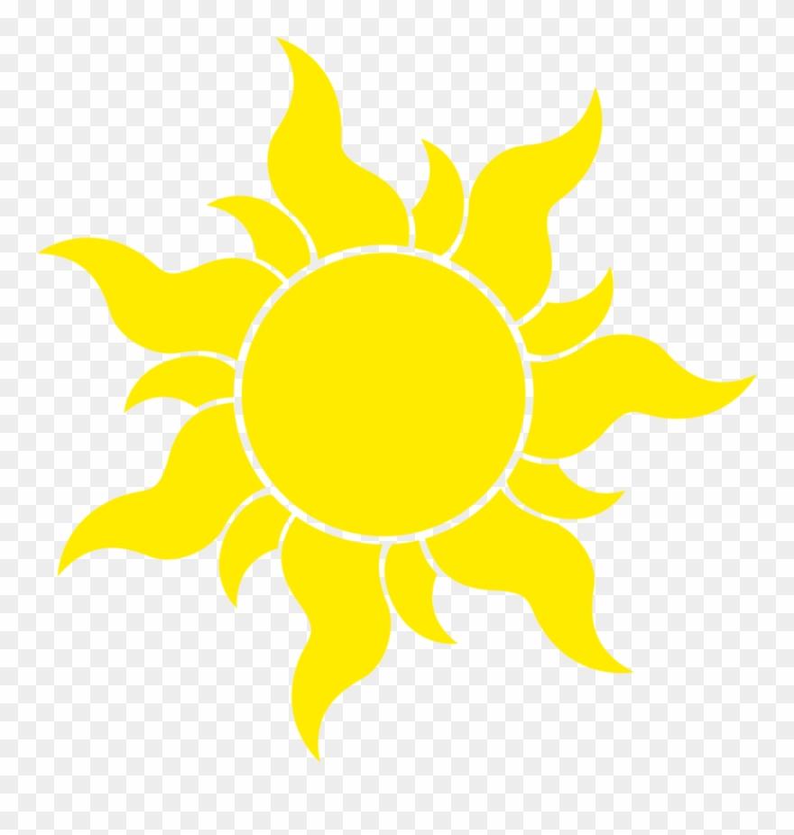 Sun Transparent Background Tangled Sun Symbol Huge