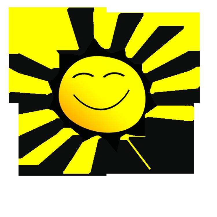 Free smiley sun.