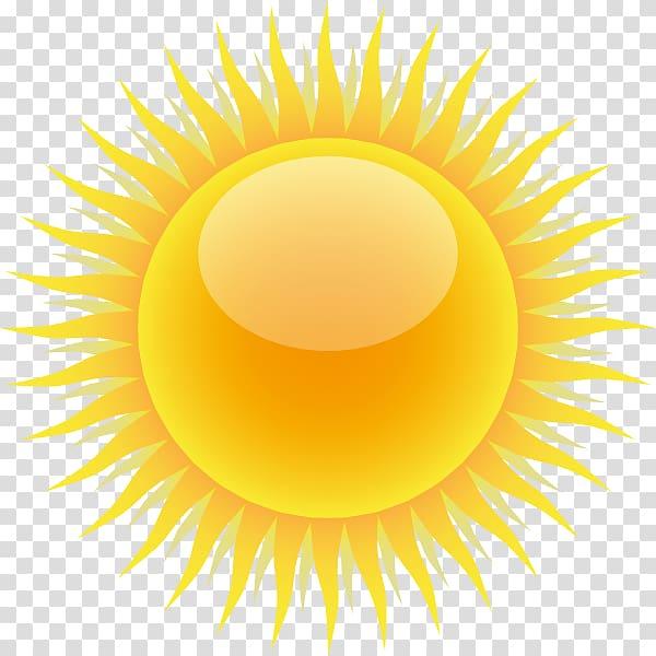 Yellow sun sun.