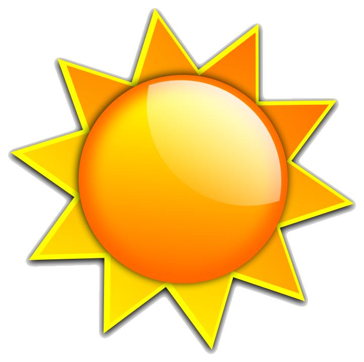 Clipart sunshine translucent.