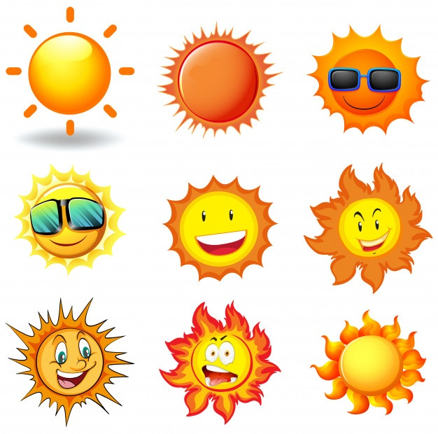Sun Vectors, Photos and PSD files
