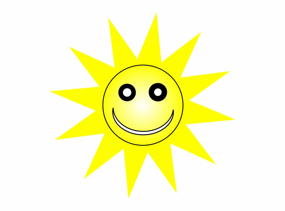 Happy sun smiley.