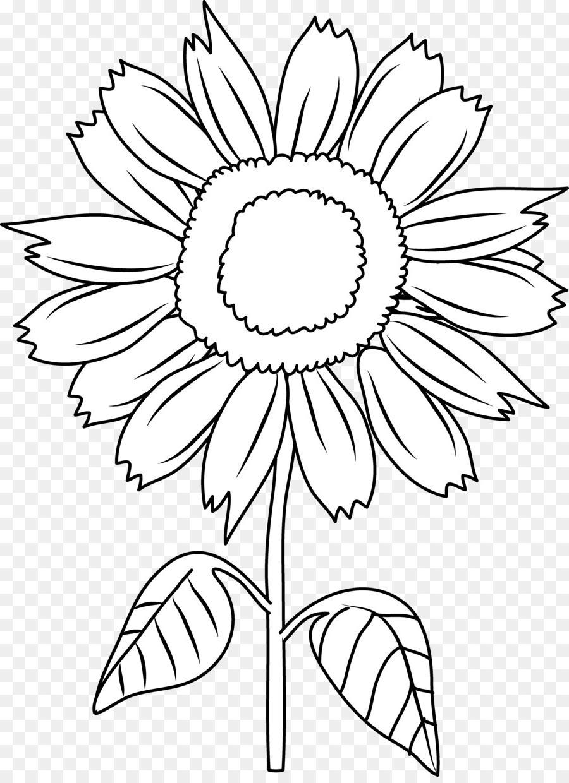 Unique sunflower clip.