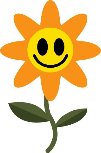 Sunflower clipart free.
