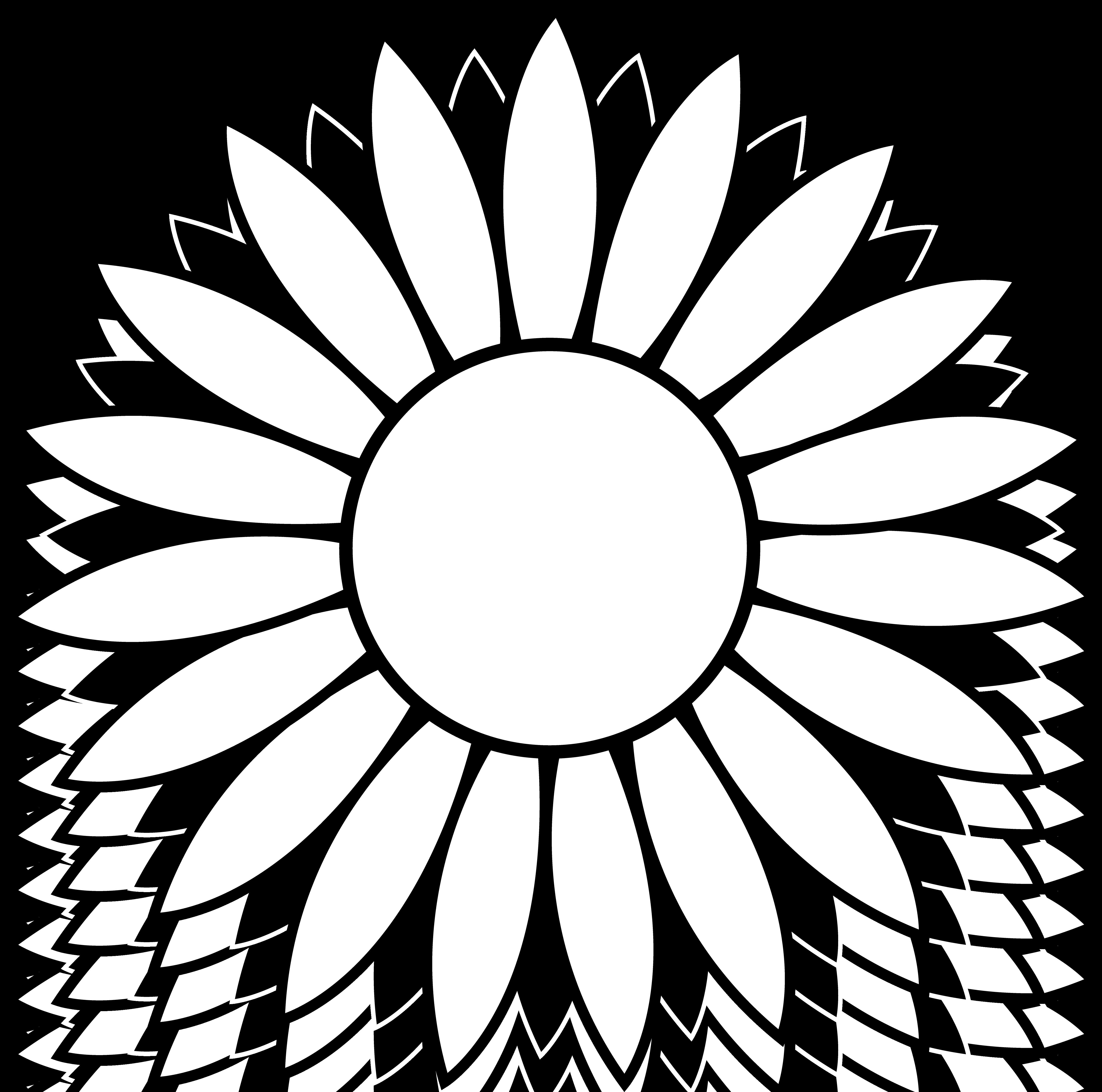 Free sunflower line.