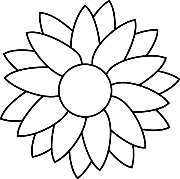 Flower free rhinestone.