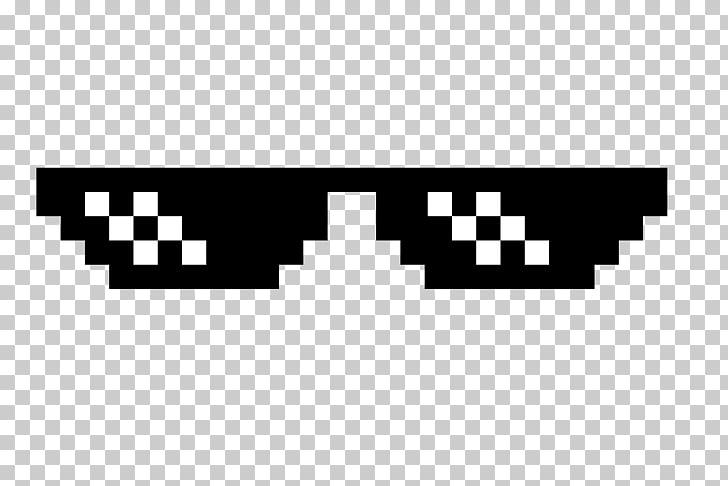 Sunglasses thug life.