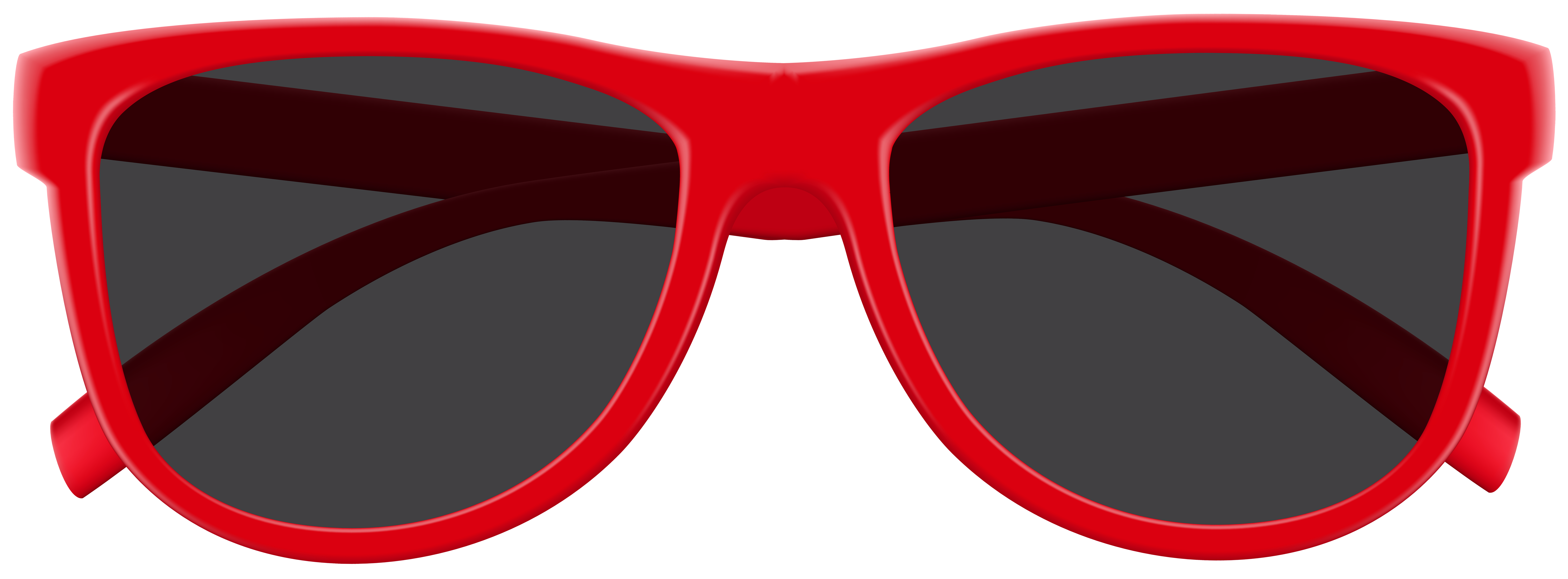 Red Sunglasses PNG Clip Art Image