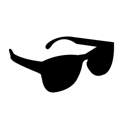 Black shades silhouette.